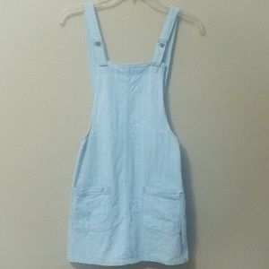 Forever 21 Overall Denim Dress